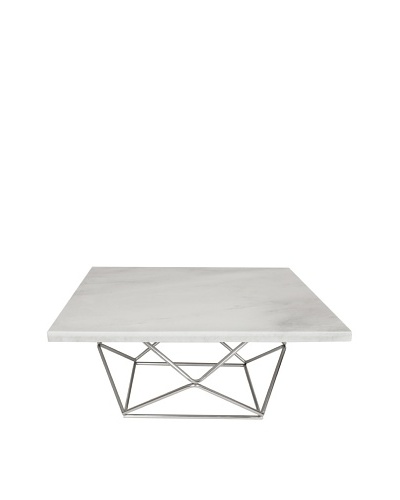 Control Brand The Glostrup Table, White Marble