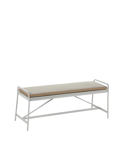 Control Brand Nordland Bench, Light Grey/Beige