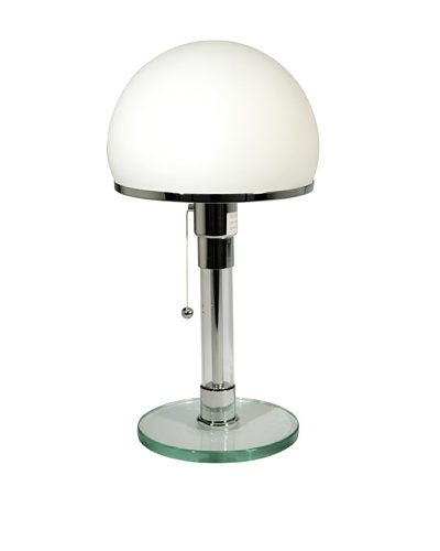 Control Brand Bauhaus Table Lamp, White