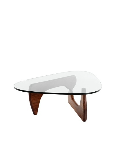 Control Brand Noguchi-Style Coffee Table, Walnut