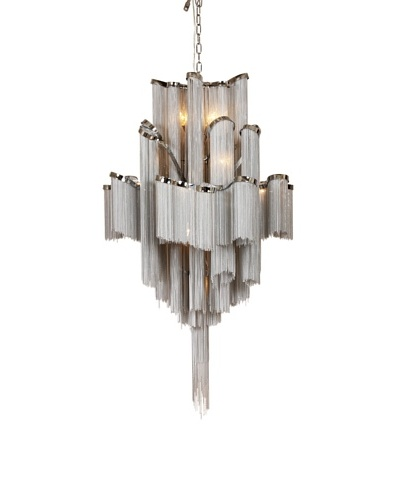 Control Brand The Elan Chandelier, Chrome