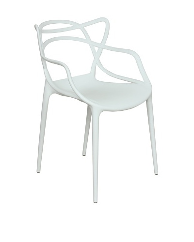 Control Brand Sebastian Arm Chair, White