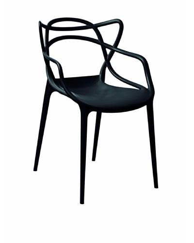 Control Brand Sebastian Arm Chair, Black