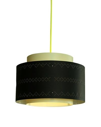 Control Brand Venlo Black Green Pendant Lamp