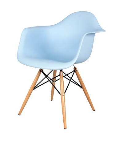 Control Brand Mid-Century-Inspired X-Leg Arm Chair