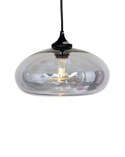 Control Brand The Bodo Pendant In Grey Tint, Grey