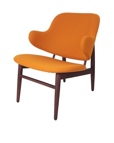 Control Brand Cosgrove Loung Chair, Orange