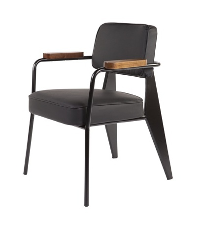 Control Brand Myson Arm Chair, Black