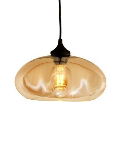 Control Brand The Bodo Tinted Pendant, Brown