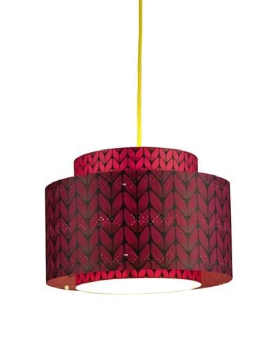 Control Brand Venlo Fuchsia Pendant Lamp