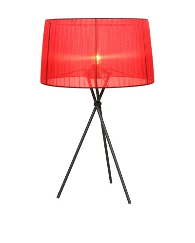 Control Brand Sticks Table Lamp, Red