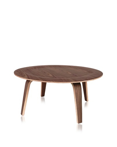 The Saucer Coffee Table, Walnut