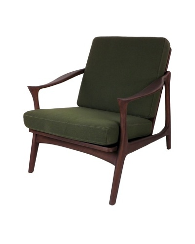 Control Brand The Upton Easy Chair with Horned Armrests