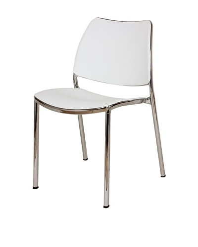 Control Brand Asta Side Chair, White