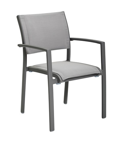 Control Brand Rhodes Arm Chair, Grey