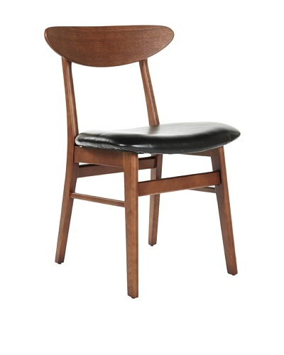 Control Brand Upsalla Side Chair, Black