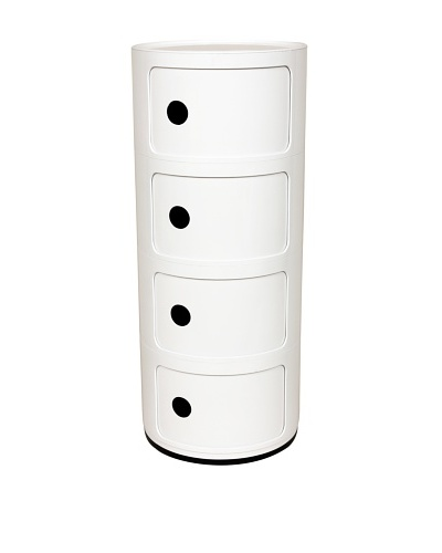 Control Brand Compo Mini Storage Chest, White