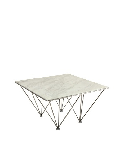 Control Brand Pei Coffee Table, White MarbleAs You See