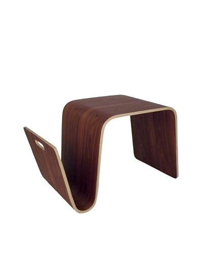 Control Brand Bentwood Breakfast Table, Rosewood