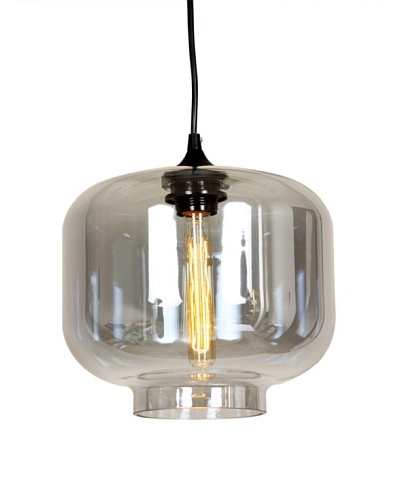 Control Brand The Bergen Pendant In Grey Tint, Grey