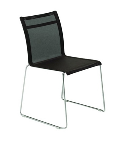 Control Brand Dynamic Side Chair, Black