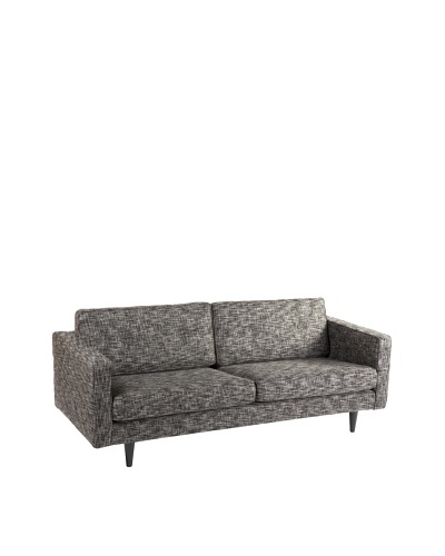 Control Brand Parma 3-Seater Sofa, Black Twill