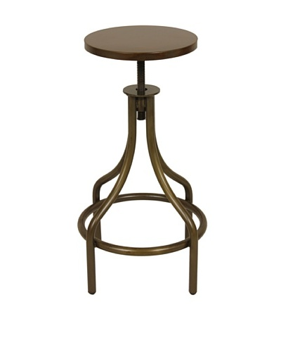 Control Brand Good Form Adjustable Bar Stool with French Swag Leg