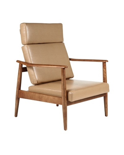 Control Brand Aalborg High-Back Chair, Brown