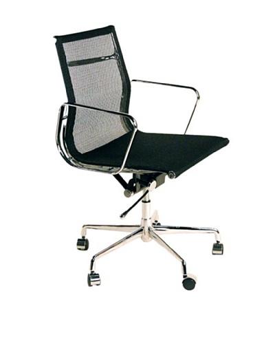 Control Brand Mid-Century Mesh Executive Office Chair, Black