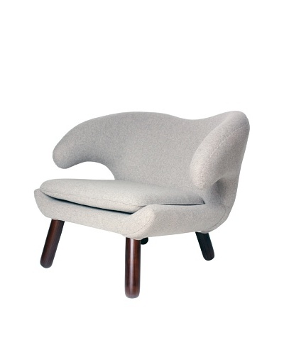 Control Brand Pelican Chair, Light/Dark Wheat