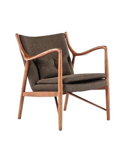 Control Brand Esjberg Arm Chair, Brown