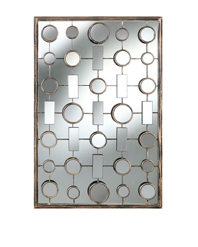 Cooper Classics Fairmont Mirror, Brushed Bronze