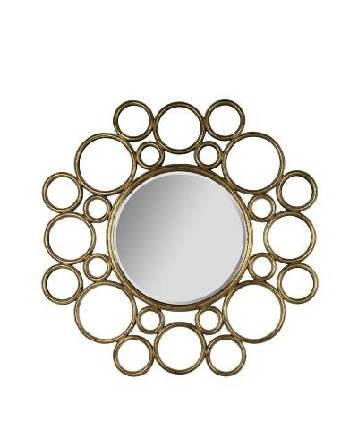 Cooper Classics Celeste Mirror, Antique Gold
