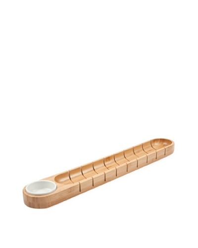 Core Bamboo French Bread Board with Dipping Bowl