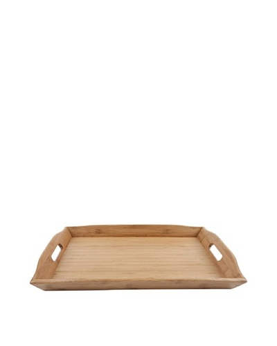Core Bamboo European Rectangle Tray, Natural, Large