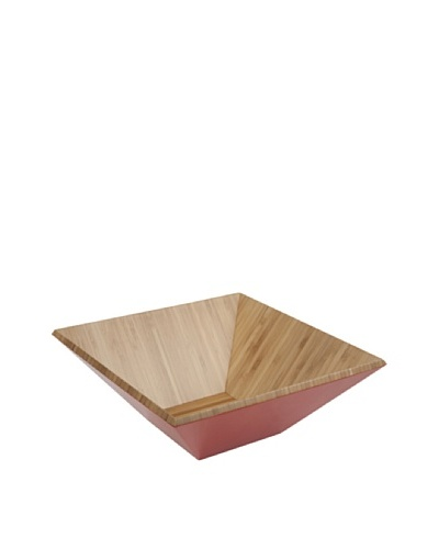 Core Bamboo Matte-Finish Square Bamboo Bowl