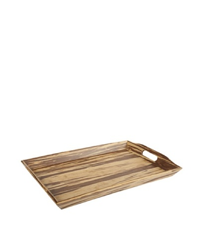 Core Bamboo Crushed Bamboo European Rectangle Tray, Large