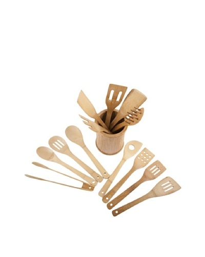 Core Bamboo Classic 14-Piece Kitchen Utensil Set