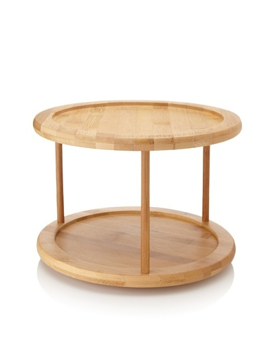 Core Bamboo 2-Tier Lazy Susan