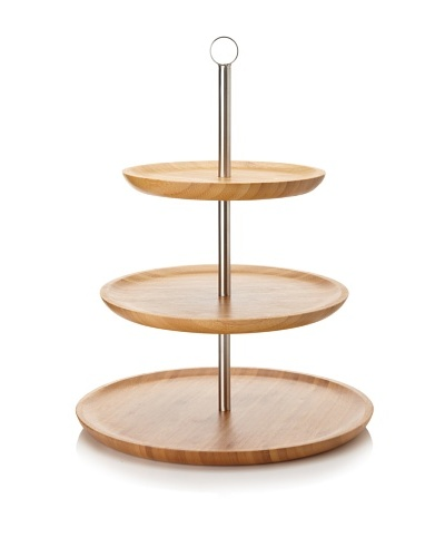 Core Bamboo Three-Tier Serving Tray