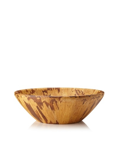 Core Bamboo Modern Crushed Bamboo Bowl, Extra Large