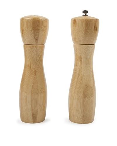 Core Bamboo 8 Hourglass Bamboo Salt and Pepper Mill Set