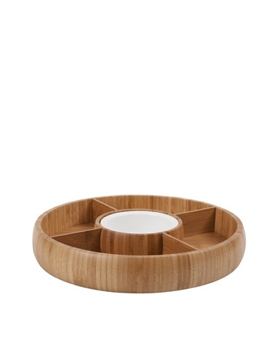 Core Bamboo Revolving Classic Adjustable Chip and Dip