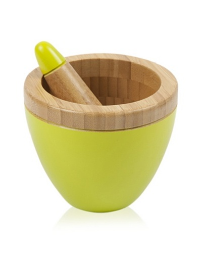 Core Bamboo Modern Mortar and Pestle