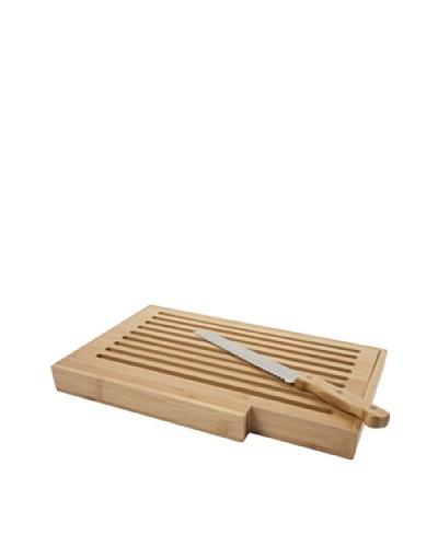 Core Bamboo Bread Board with Bread Knife