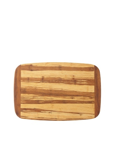 Core Bamboo Crushed Bamboo Two-Tone Cutting Board