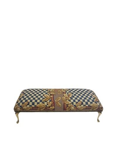 Corona Décor Co.  French Checkerboard  Bench