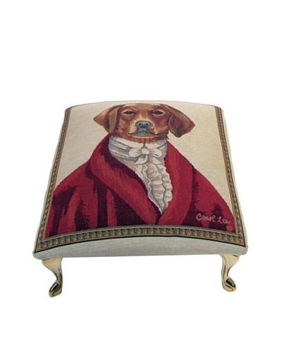 Corona Décor Co. Sir Buckingham Footstool