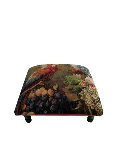 Corona Décor Co. Parrot Footstool