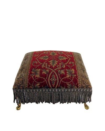 Corona Décor Co. Bararami Red footstool